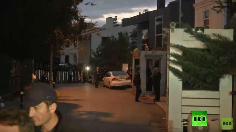 فريق التحقيق يستعد لدخول منزل القنصل السعودي في اسطنبول