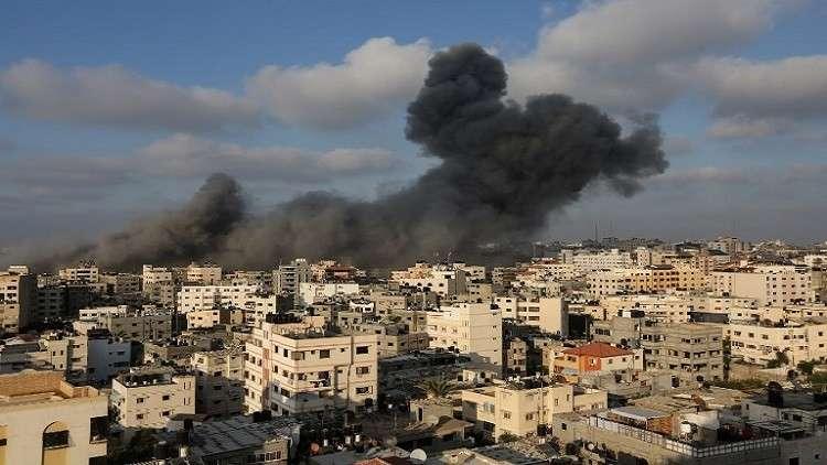 إسرائيل تقصف غزة ردا على استهداف بئر السبع