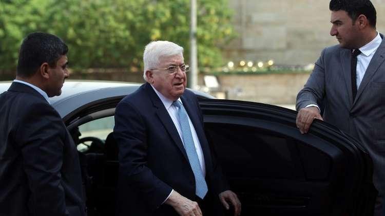 الرئيس العراقي السابق فؤاد معصوم