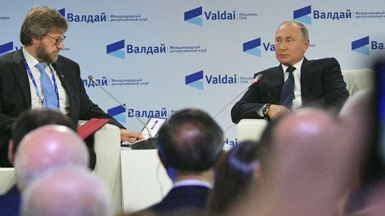بوتين: التدخل الخارجي غذى الإرهاب في العراق ودمر الدولة في ليبيا