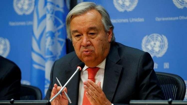 غوتيريش يطالب بتحقيق سريع ومعمق وشفاف في ظروف مقتل خاشقجي