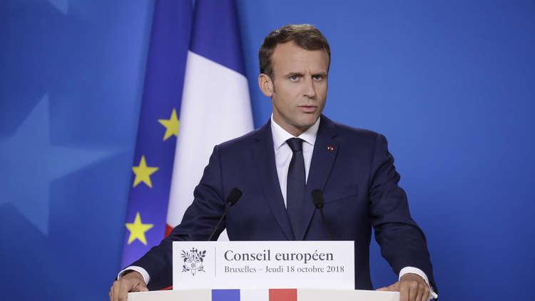 ماكرون: فرنسا ستستمر بدعم العراق في المرحلة المقبلة