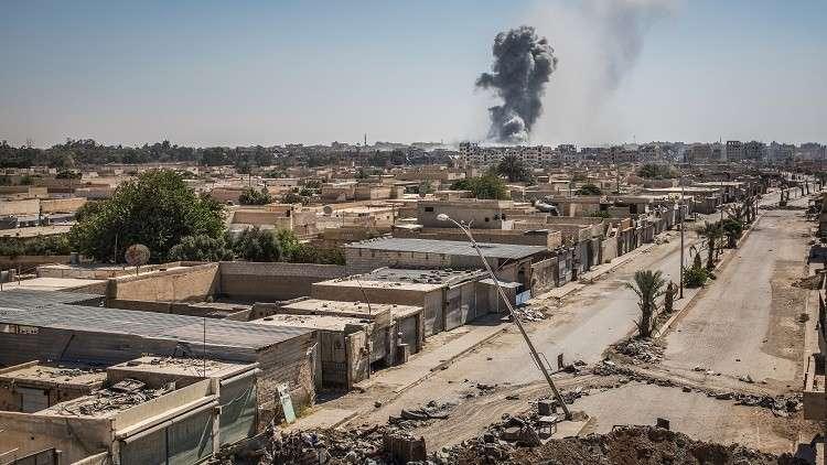 غارة جديدة للتحالف على السوسة في سوريا
