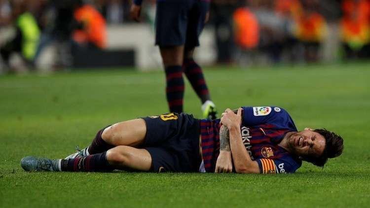 إصابة ميسي.. خبر ممتاز لبرشلونة !