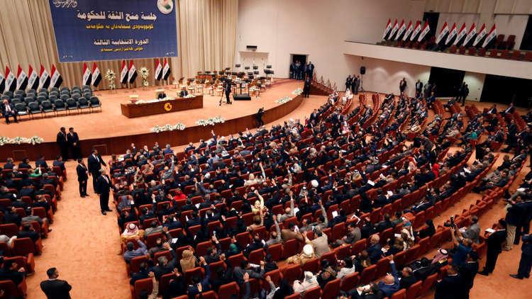 100  نائب عراقي يريدون تصويتا سريا على