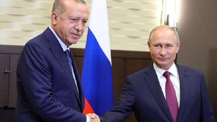 قمة ثنائية بين بوتين وأردوغان السبت على هامش لقاء اسطنبول بشأن سوريا