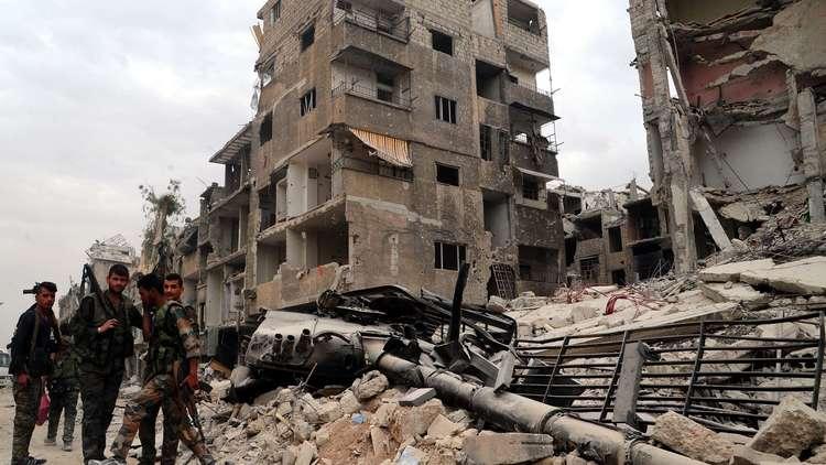 فرنسا تعود بالقوة إلى مستعمرتها السابقة سوريا