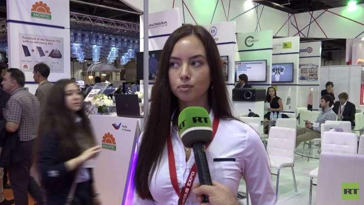 """""""صنع في روسيا"""" بمعرض تكنولوجيا دبي"""