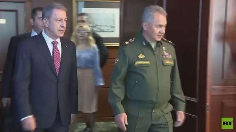 وزراء الخارجية والدفاع لروسيا وتركيا يبحثون الوضع في سوريا