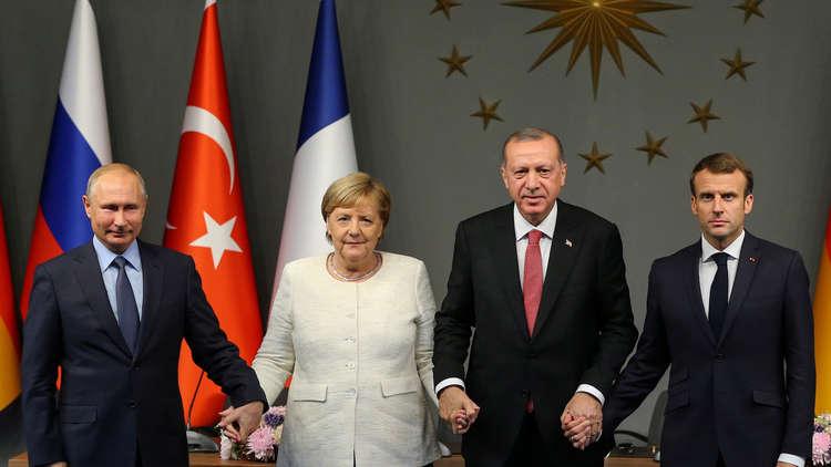 أهم نقاط البيان الختامي لقمة اسطنبول الرباعية حول سوريا