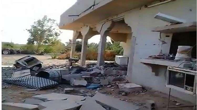 شاهد الدمار الذي خلفه طيران التحالف في السوسة شمال سوريا