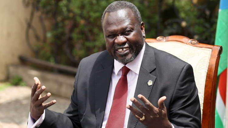 رياك مشار النائب السابق لرئيس جنوب السودان