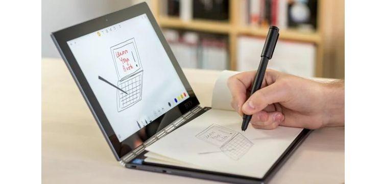 لينوفو.. تجلب للكمبيوتر المحمول تقنية e-ink