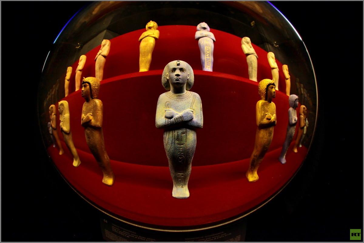 روسيا تكشف عن ألغاز وأسرار الملك المصري الشاب (صور)
