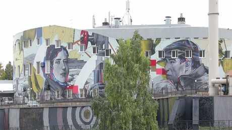 جداريات تزين أبنية جمهورية تترستان