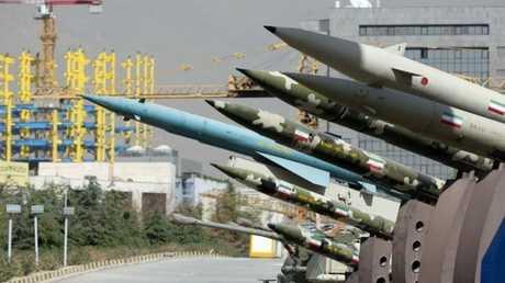 صواريخ إيرانية، صورة أرشيفية