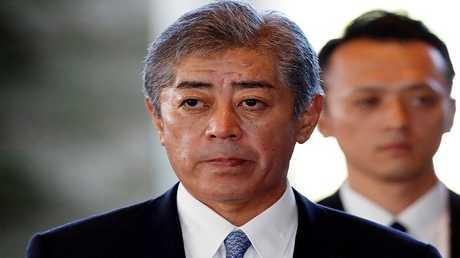 وزير الدفاع الياباني الجديد تاكيشي إيوايا