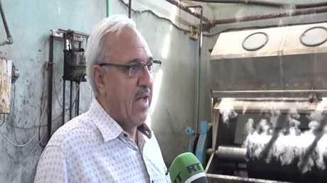 جهود إعادة تشغيل المصانع في سوريا