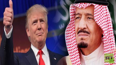 الملك سلمان ودونالد ترامب