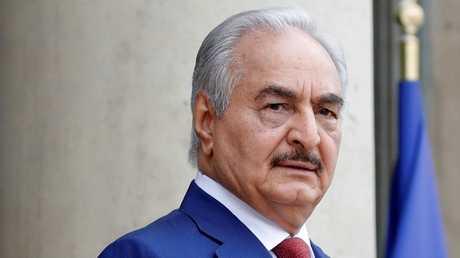 القائد العام للجيش الليبي المشير خليفة حفتر