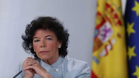 المتحدثة باسم الحكومة الإسبانية إيسابيل سيلا
