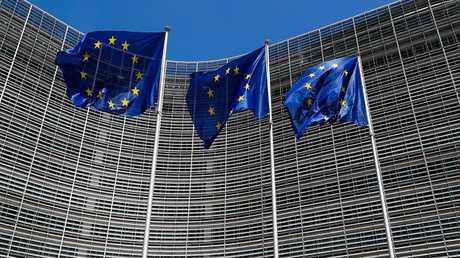 مبنى الاتحاد الأوروبي في بروكسل ببلجيكا