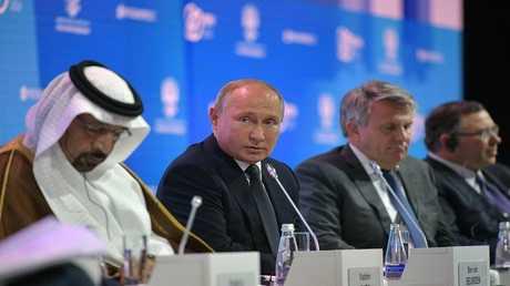 بوتين يؤكد تنفيذ مشروع