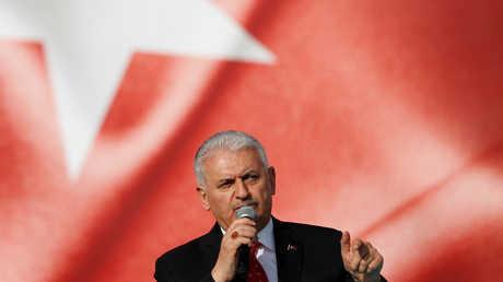 رئيس البرلمان التركي، بن علي يلدريم