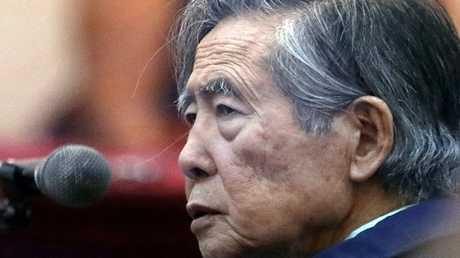 الرئيس البيروفي الأسبق ألبرتو فوجيموري