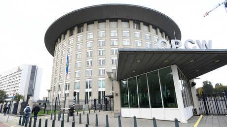 مبنى منظمة حظر الأسلحة الكميسائية في لاهاي