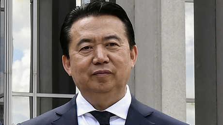 مدير الإنتربول مينغ هونغ وي صيني الجنسية