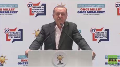 أردوغان: سنقضي على الإرهابيين في أوكارهم