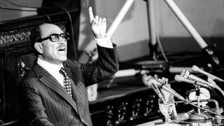 الرئيس المصري الراحل محمد أنور السادات