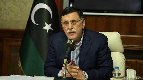 رئيس المجلس الرئاسي لحكومة الوفاق الوطني الليبية فايز السراج