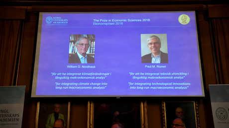 نوبل للاقتصاد من نصيب باحثين أمريكيين