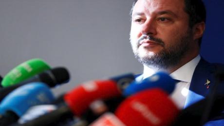 ماتيو سالفيني نائب رئيس الوزراء الإيطالي