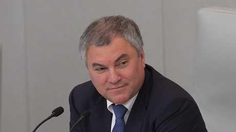رئيس مجلس النواب الروسي فياتشيسلاف فولودين