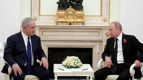 لقاء بين الرئيس الروسي فلاديمير بوتين ورئيس الوزراء الإسرائيلي بنيامين نتنياهو، 11/07/2018