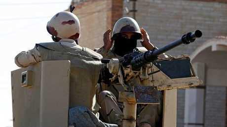 عناصر من القوات المصرية