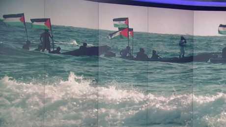 أول إسعاف بحري في غزة