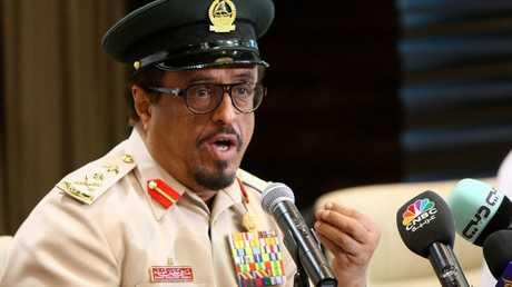 نائب رئيس شرطة دبي، الفريق ضاحي خلفان