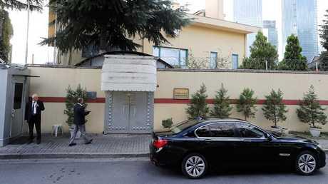 قنصلية السعودية في إسطنبول