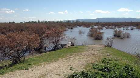 نهر إفروس على الحدود بين اليونان وتركيا (صورة من الأرشيف)