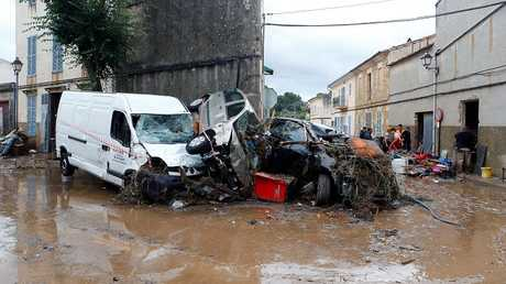 9 قتلى بينهم بريطانيان بسبب فيضانات في جزيرة مايوركا