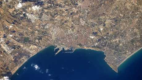 الأرض من المحطة الفضائية الدولية