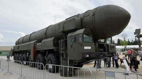 الصاروخ الروسي العابر للقارات