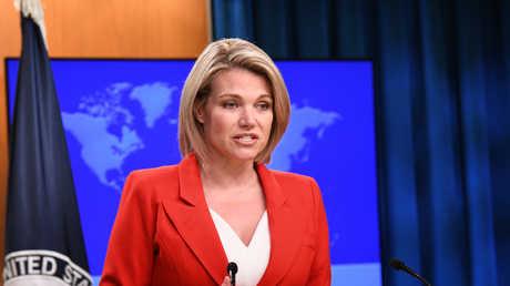 المتحدثة باسم الخارجية الأمريكية، هيذر ناورت