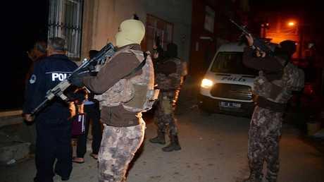 """الأمن التركي يلاحق عناصر """"داعش"""" (صورة أرشيفية)"""