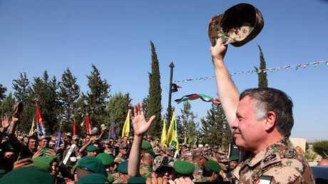 ملك الأردن عبد الله الثاني