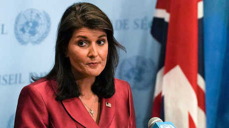المندوبة السابقة للولايات المتحدة لدى الأمم المتحدة